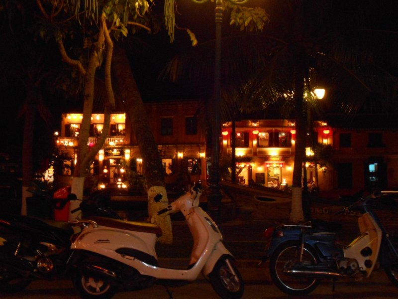 Pretty lanterns near the river in Hoi An
