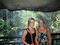Us at the bird park