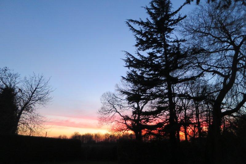 Botts Green sunset