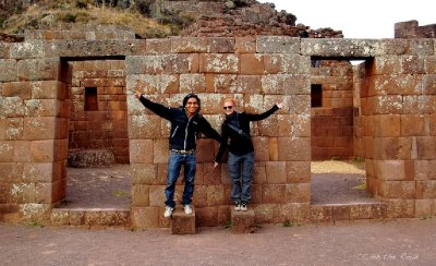 Ysmael and Conny in Pisac