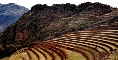 The endless terraces of Pisac