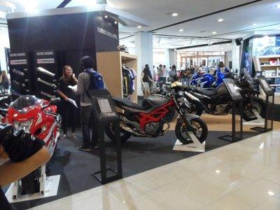 Bangkok mall bike show
