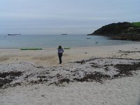 Diane on Swanpool Beach