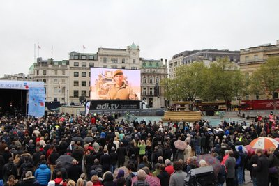 Remembrance Day @Trafalgar Square