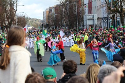 St Patrick's Day Parade @Cork