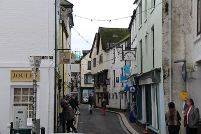The Streets of Fowey