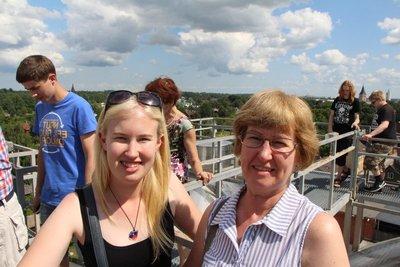 Mum & Megan @A. Le Coq Brewery