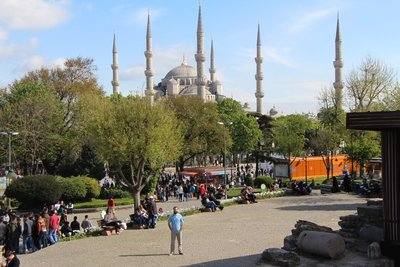 Rein @Blue Mosque