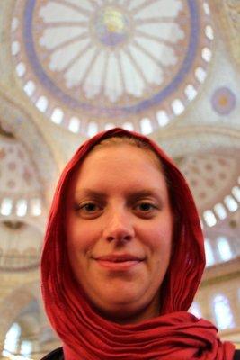 Leah @Blue Mosque