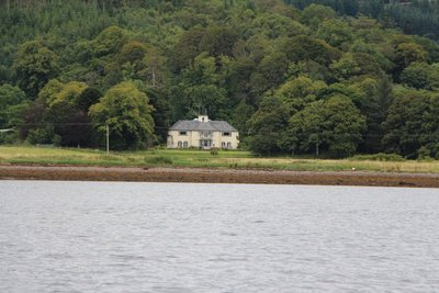 Melfort House from Loch Melfort