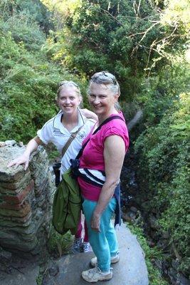 Leah & Mum @Cinque Terre