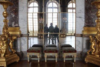 Leah, Rein & Mum @Versailles Palace