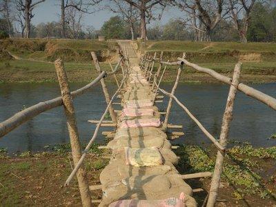 Bridge to the Elephant Breeding Centre