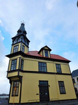 Old Building in Reykjavik