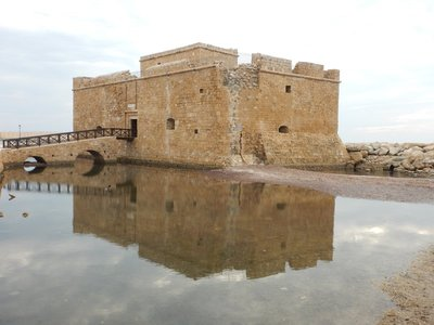 Castle on Paphos Harbour