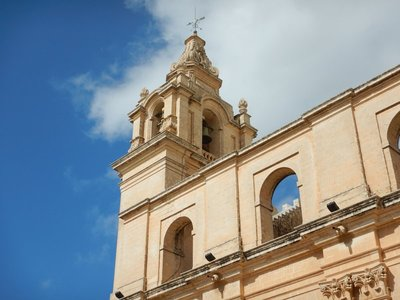Bell toer, St Paul's Cathedral, Mdina