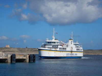 The Gozo Ferry