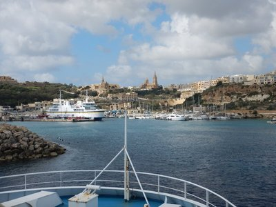 Arriving In Gozo