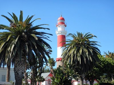 The lighthouse Swakopmund