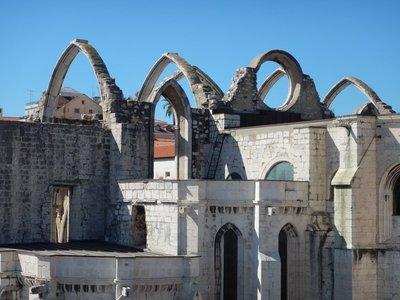Ruins of the Igreja do Carmo