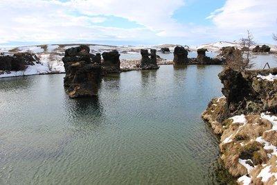 Kalfastrond Pillars, Myvatn