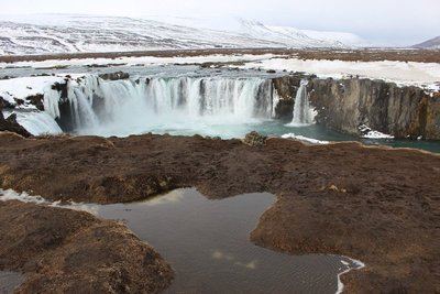 Godafoss From The Other Side