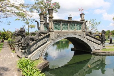 Stone Bridge Tirta Gangga