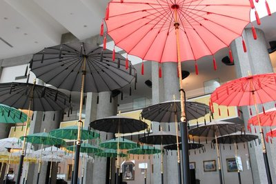 Umbrellas Royal Regalia Museum