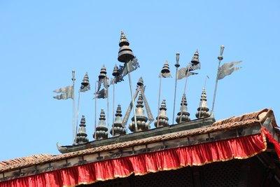The Bhimsen Mandir Roof