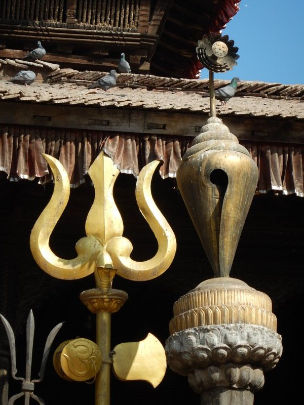 Detail from the Dattatraya Temple