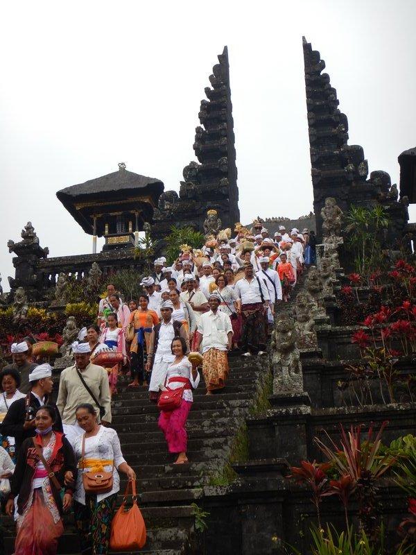 Besakih Procession