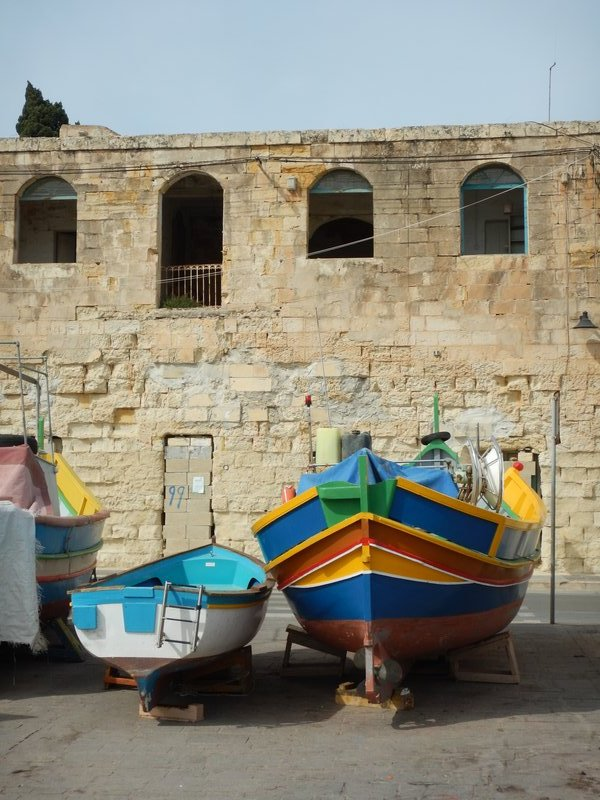 Boats - Marsaxlokk