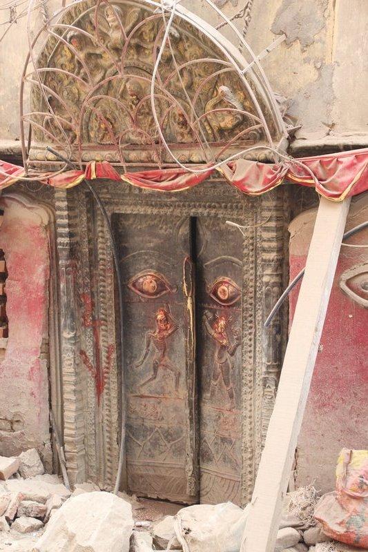 Decorated Doorway - Kathmandu