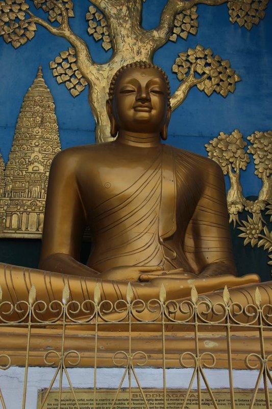 Budda details on the World peace Pagoda