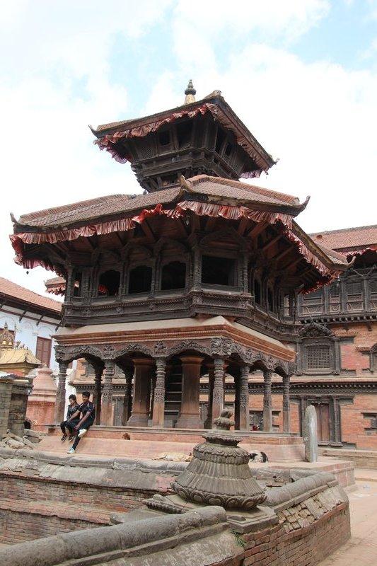 Brick Shikhara Style Temple