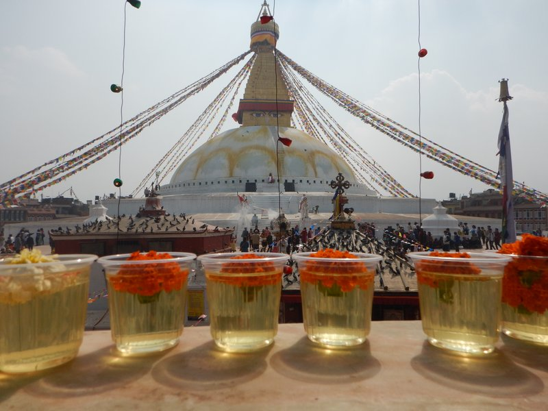 Looking Over Boudhanath