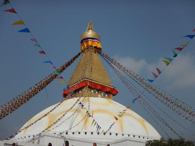 The stupa at Boudhanth