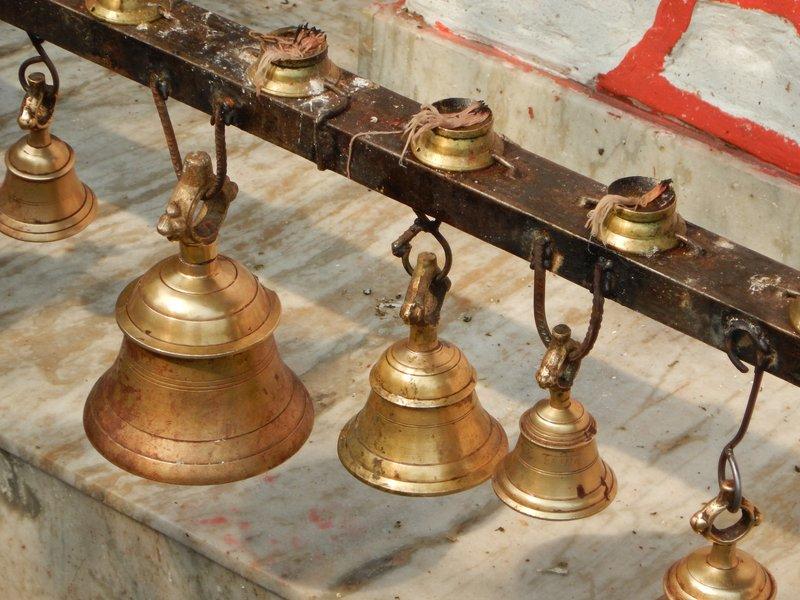Temple bells at Tal Barahi