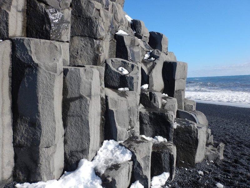 Basaltic Lava Columns