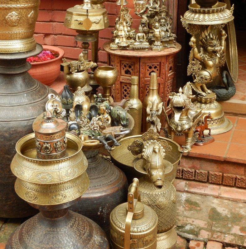 Brass Souvenirs Bhaktapur