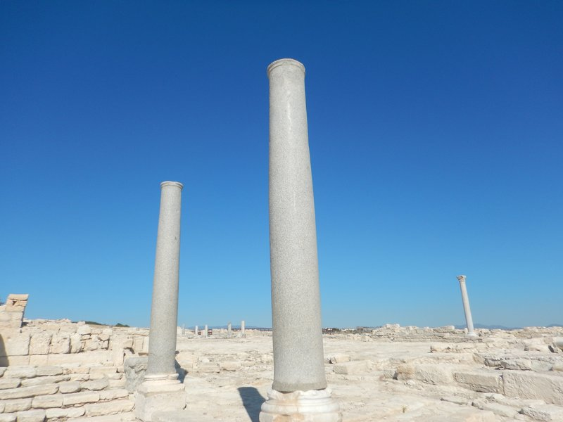 Two Ruined Columns