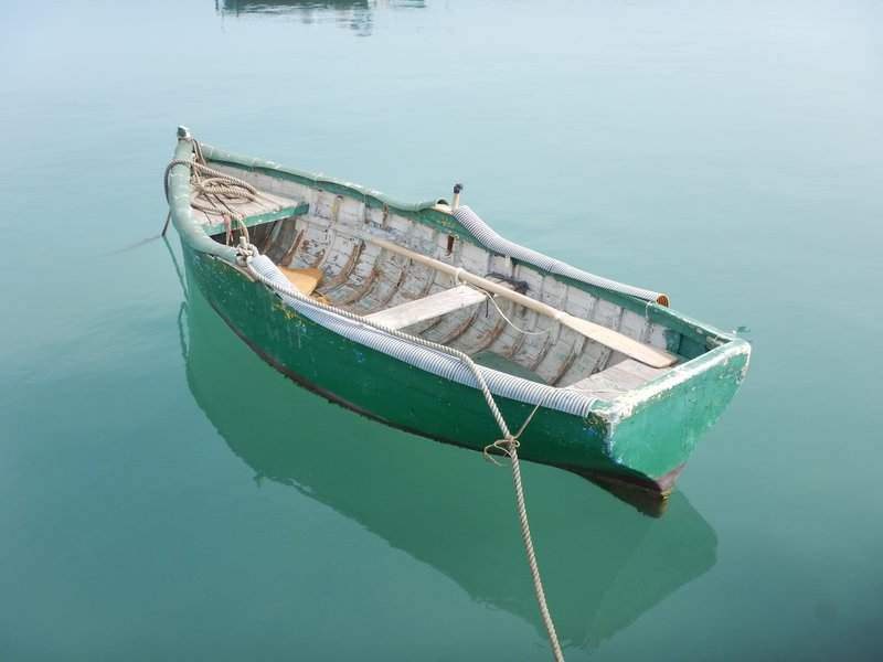 Row Boat on the Water