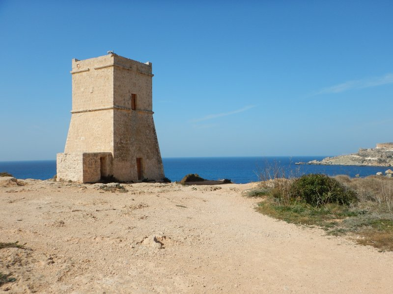 Watch Tower at Ghajn Tuffieha