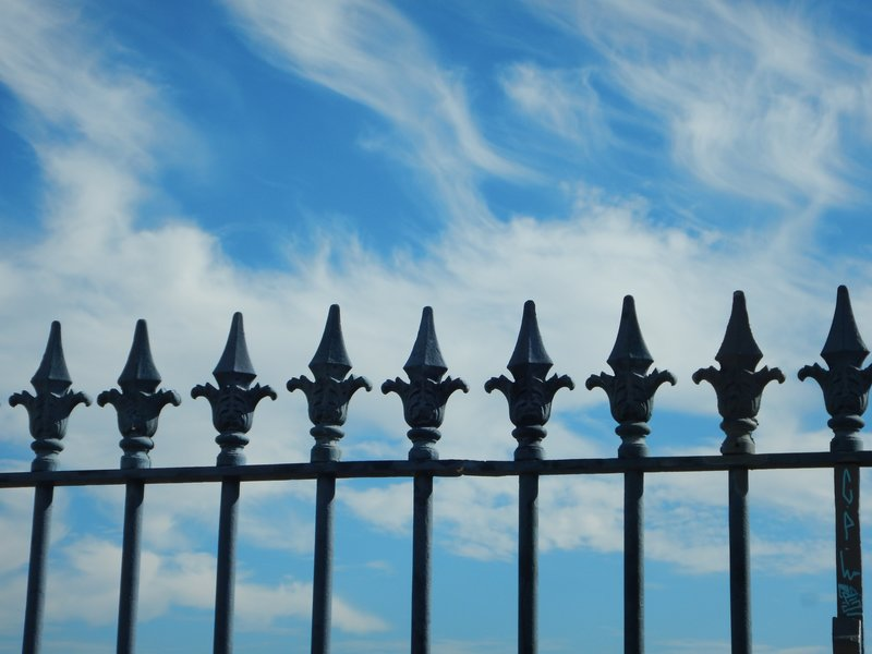 Railings and Sky