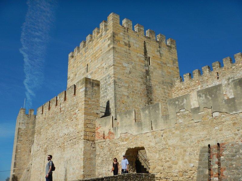 Castelo de Sao Jorge Lisbon