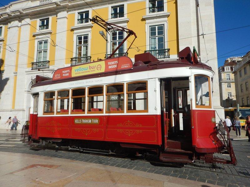 Tourist Tram Lisbon