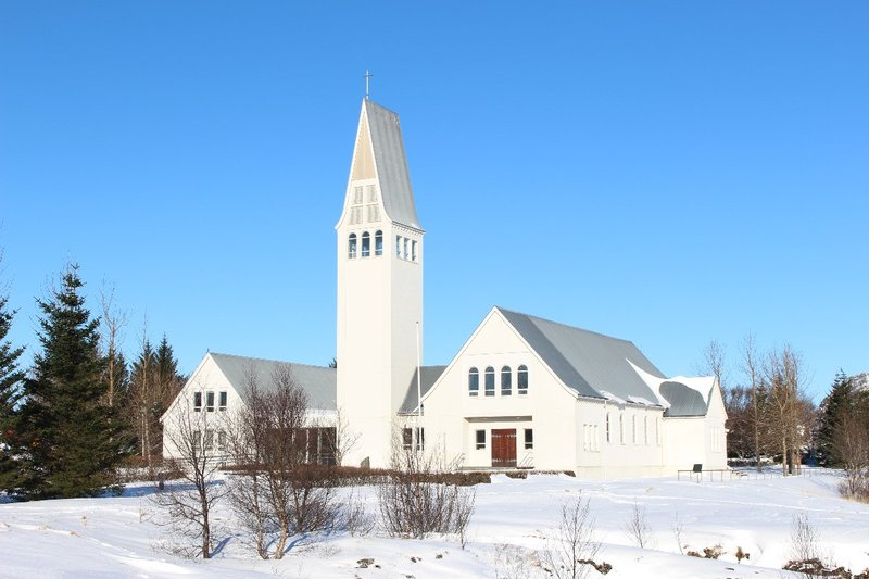 The church at Selfoss