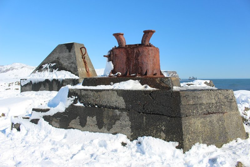 Ruins of the old lighthouse