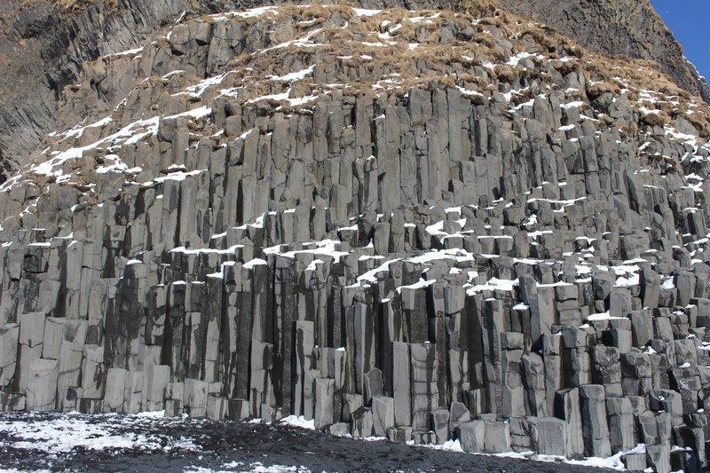 Basalt columns Reynisfjara