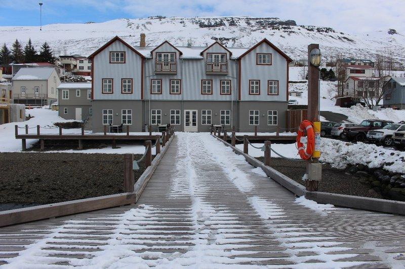 Our hotel in Fáskrúðsfjörður